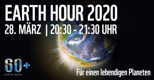 earth hour 2020 Banner