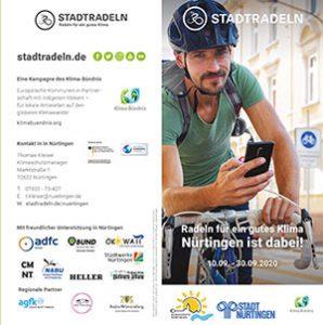 Stadtradeln 20 Flyer Nürtingen